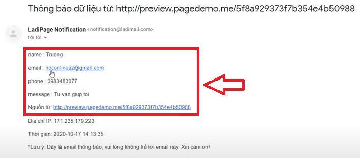 mail-ladingpage